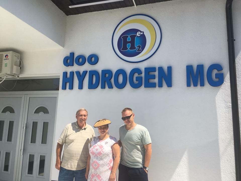 Molecular hydrogen - molekulární vodík - h2